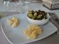 antipasto di parmigiano e zucchine
