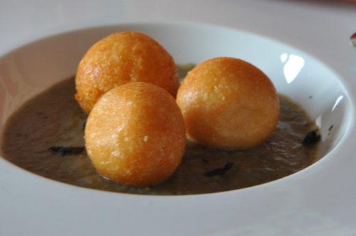 sfere di parmigiano